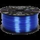 Plasty Mladeč tisková struna (filament), ABS-T, 1,75mm, 1kg, transparentní modrá