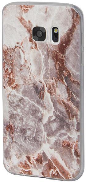 EPICO pružný plastový kryt pro Samsung Galaxy S7 MARBLE - rose