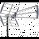 FUBA anténa DAT 902 B LTE, venkovní anténa