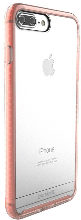 Mcdodo iPhone 7/8 PC+TPU Transparent Case Patented Product, Pink