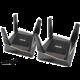 ASUS RT-AX92U, AX6100, Tri-Band Gigabit Aimesh Router, 2ks  + ASUS myš TUF Gaming M5, herní, optická, černá v hodnotě 1 099 Kč (ASUS)