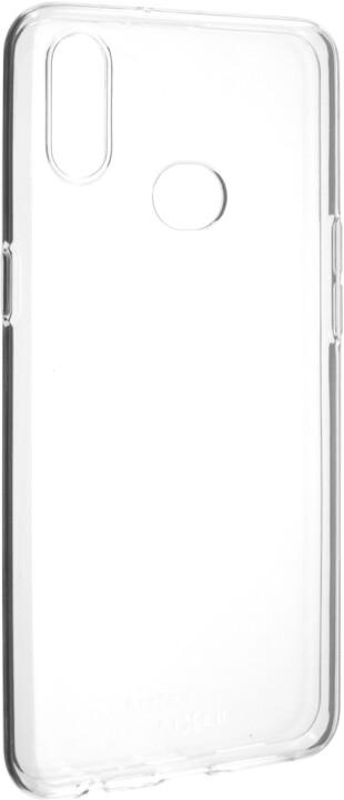 FIXED ultratenké TPU gelové pouzdro Skin pro Samsung Galaxy A10s, 0,6 mm, čiré