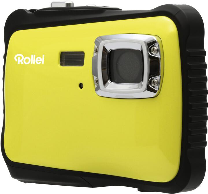Rollei Sportsline 65, voděodolný, žlutá/černá, brašna
