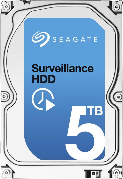 Seagate Surveillance - 5TB + Rescue