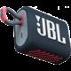 JBL GO3, modrá/červená