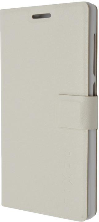 FIXED flipové pouzdro pro Lenovo Vibe X2, bílá