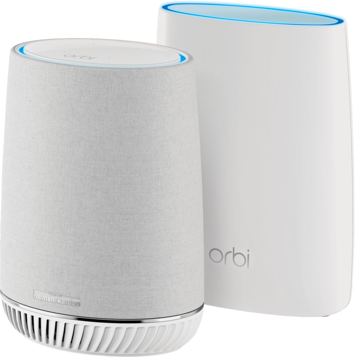 NETGEAR Orbi Voice Kit (RBS40V + RBR50) Repro + Router