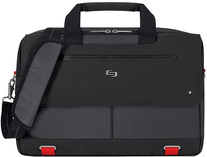 """Solo Mission Briefcase 15,6"""", černá/červená"""