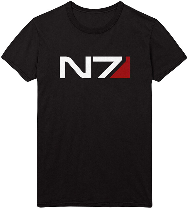 Tričko Mass Effect - N7 Classic Logo (S)