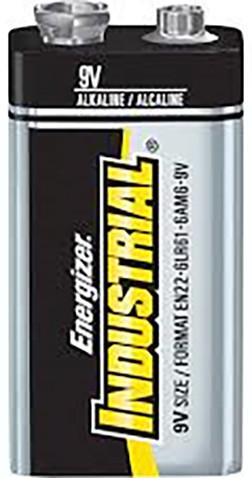 Energizer baterie 6LR61/12 Industrial 9V, 12ks