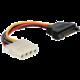 Gembird CABLEXPERT kabel Molex F na SATA M