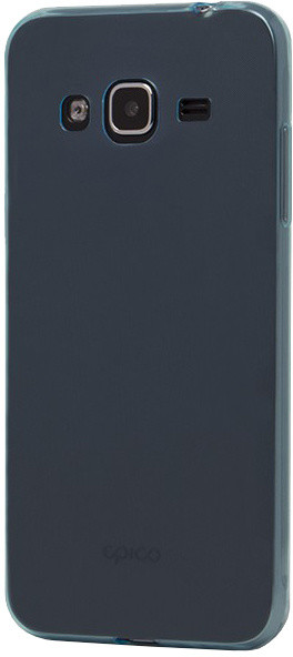 EPICO pružný plastový kryt pro Samsung J3 (2016) RONNY GLOSS - modrý