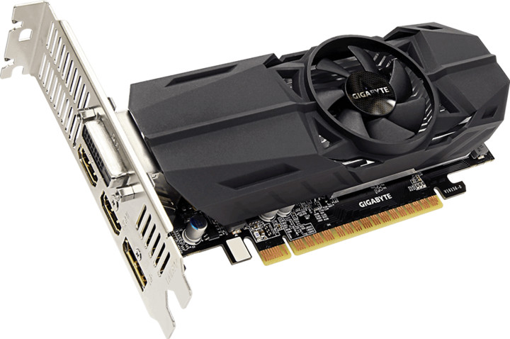 GIGABYTE GeForce GTX 1050 OC Low Profile 2G, 2GB GDDR5
