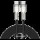 BASEUS kabel Cafule Series, USB-C, M/M, nabíjecí, datový, 100W, 2m, černá