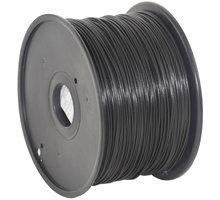 Gembird tisková struna (filament), PLA, 1,75mm, 1kg, černá - 3DP-PLA1.75-01-BK