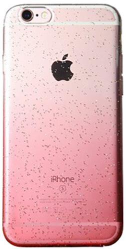 EPICO Pružný plastový kryt pro iPhone 6 HOCO GLITTER - růžový