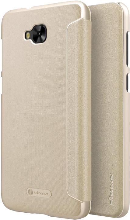 Nillkin Sparkle Folio pouzdro pro ASUS Zenfone 4 Selfie ZD553KL - zlaté