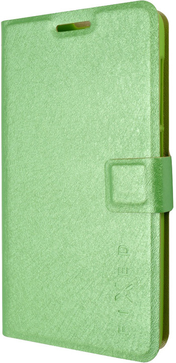 FIXED flipové pouzdro pro Lenovo A536, zelená