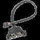 ASRock USB 2.0 kabel pro rozšíření USB 2.0 portů na ASRock DeskMini 310 na 2x USB 2.0
