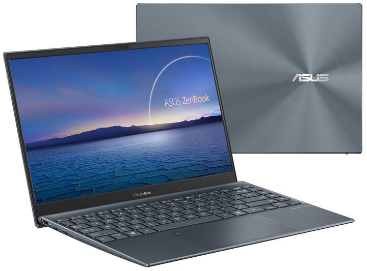 ASUS Zenbook UX325JA, šedá