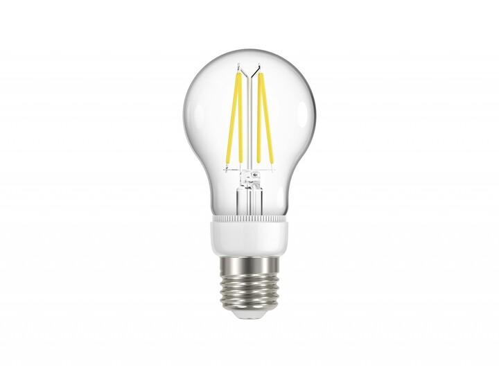 IMMAX Neo SMART LED filament E27 6,3W, teplá bílá, stmívatelná, Zigbee 3.0
