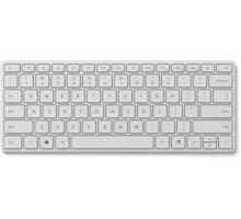 Microsoft Bluetooth Designer Compact, bílá - 21Y-00044