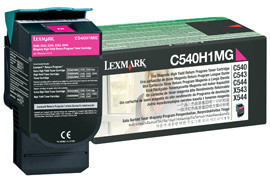 Lexmark C540H1MG - magenta, return
