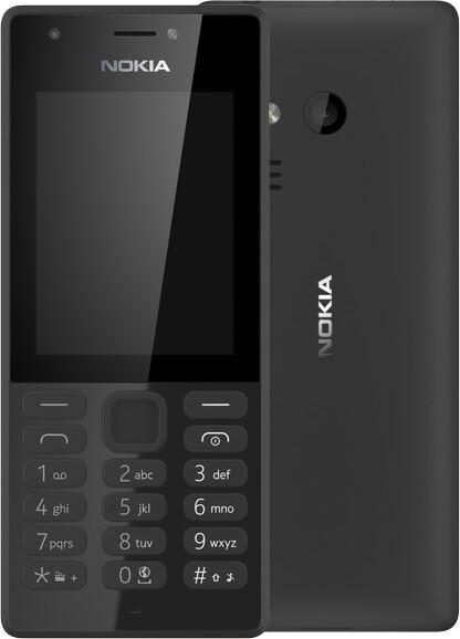 Nokia 216, Dual Sim, černá