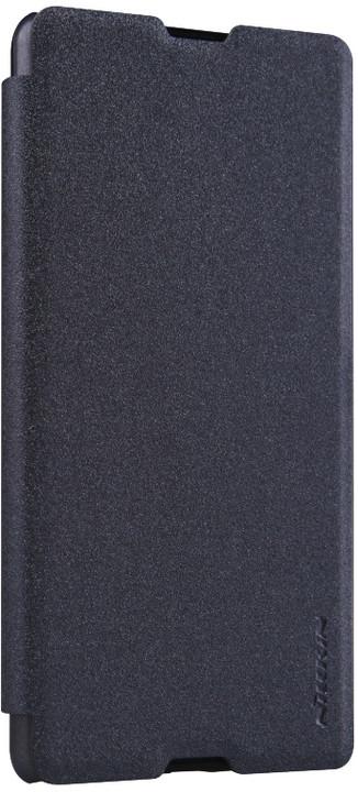 Nillkin Sparkle Folio pouzdro pro Sony E5603 Xperia M5, černá