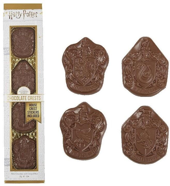 Harry Potter Čokoládové kolejní odznaky 28g