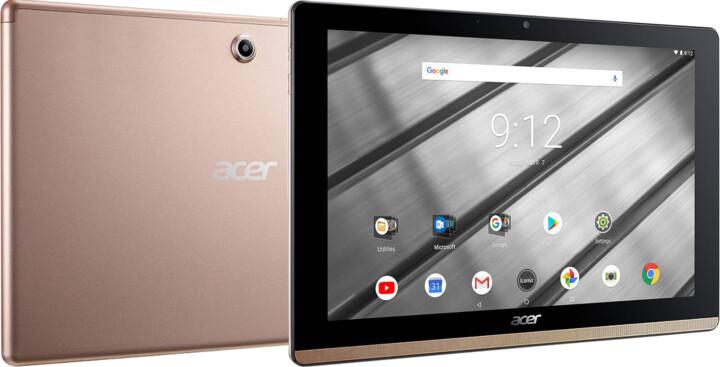 Acer Iconia One 10 FHD, (B3-A50FHD-K4RW), zlatá