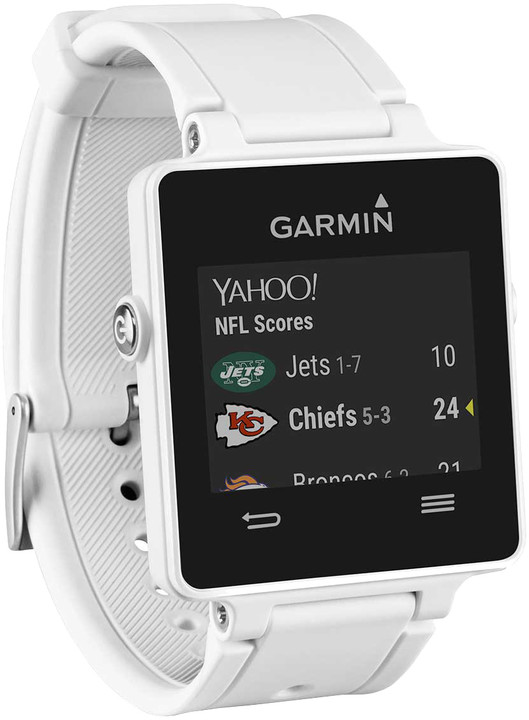 GARMIN Vivoactive, HR Premium, bílá