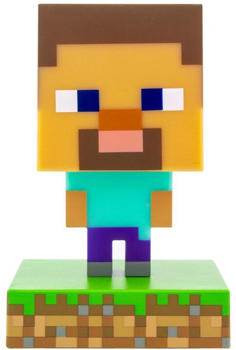 Lampička Minecraft - Steve