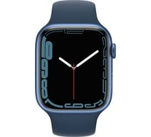 Apple Watch Series 7 GPS 45mm, Blue, Abyss Blue Sport Band
