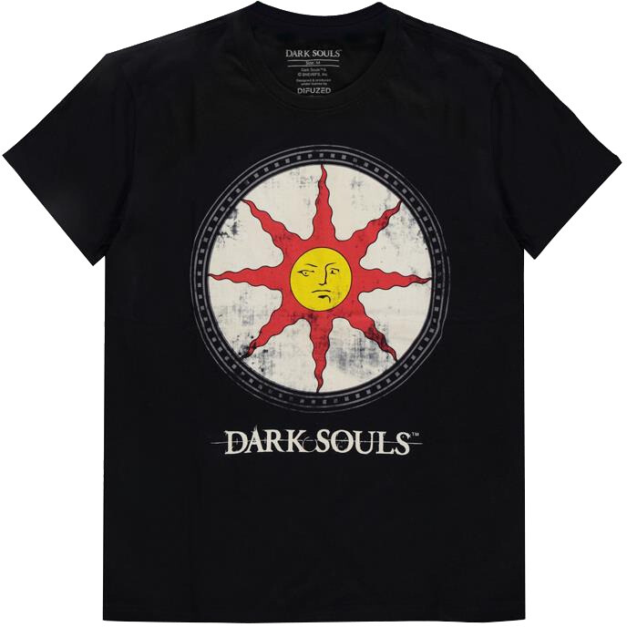 Tričko Dark Souls - Solaire Shield (M)
