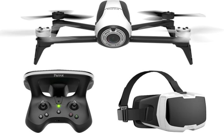 Parrot BEBOP 2 FPV se sky ovladačem 2 & virtuálními brýlemi
