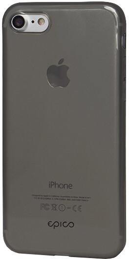 EPICO plastový kryt RONNY GLOSS pro iPhone 7/8/SE (2020), černá transparentní