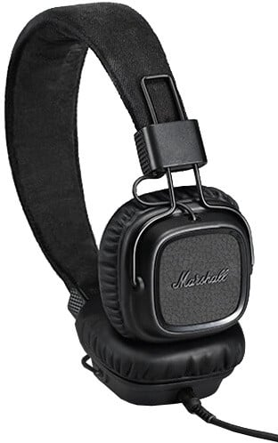 Marshall Major II, pitch black android