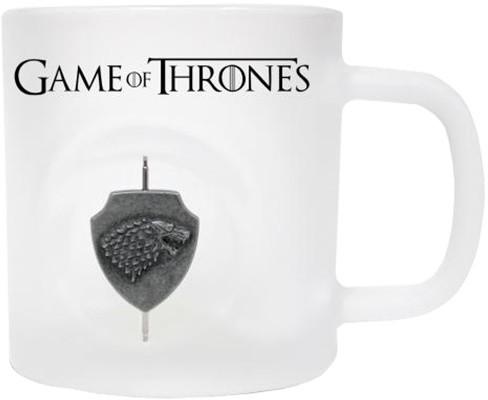 Game of Thrones - Otáčející 3D Logo Starků