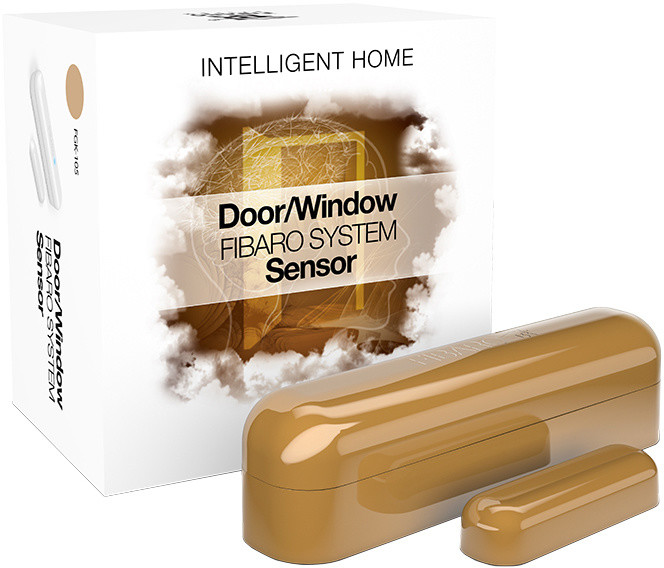 Fibaro Bateriový senzor na okna a dveře, krémová