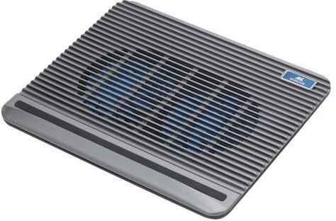 """RivaCase 5555 chladicí podložka pro notebook 15.6"""", stříbrná"""