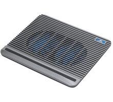 """RivaCase 5555 chladicí podložka pro notebook 15.6"""", stříbrná - RC-5555-S"""