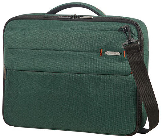 "Samsonite Network 3 OFFICE CASE 15.6"" Bottle Green"