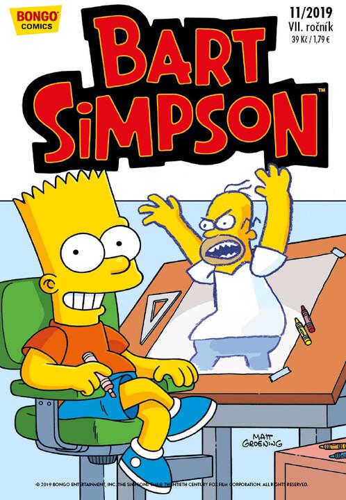 Komiks Bart Simpson, 11/2019