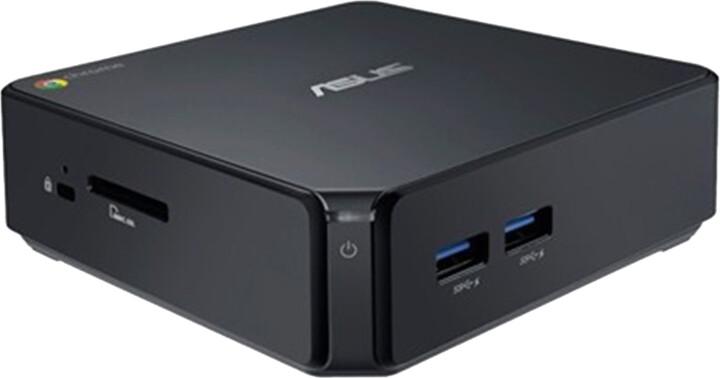 ASUS CHROMEBOX-M118U, černá
