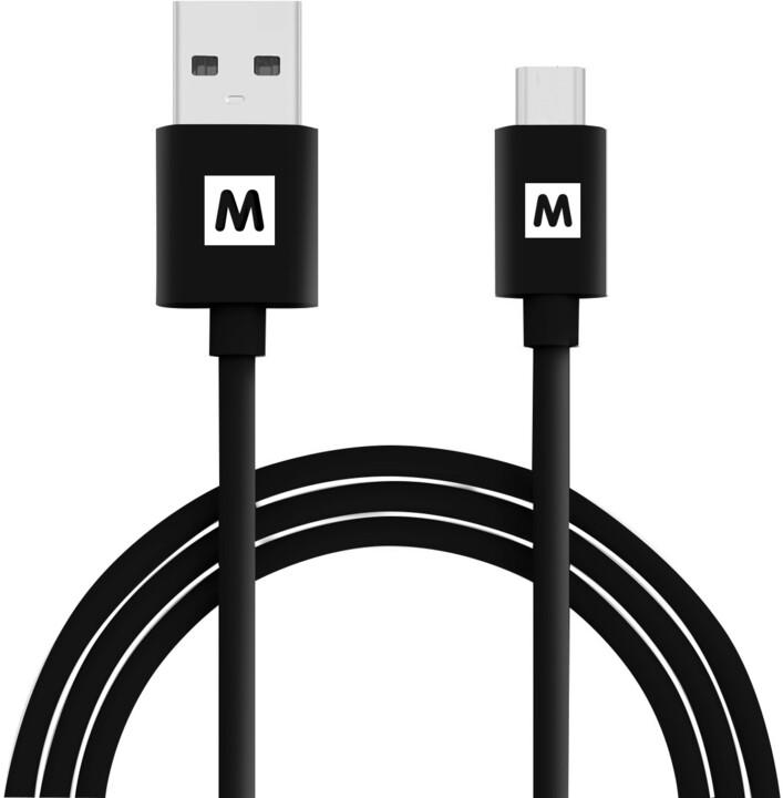 MAX MUC1100B kabel micro USB 2.0, 1m, černá