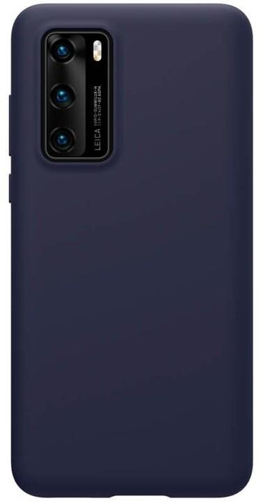 Nillkin silikonové pouzdro Flex Pure Liquid pro Huawei P40, modrá