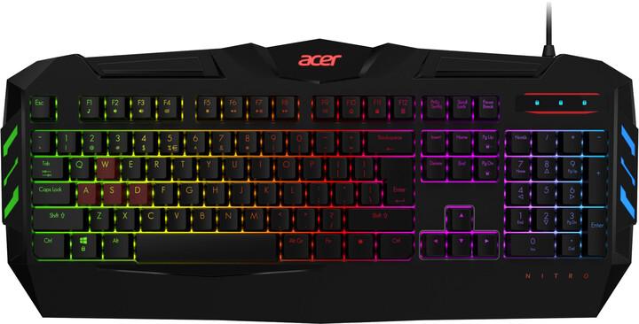 Acer Nitro, černá, CZ/SK