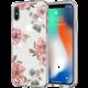 Spigen Liquid Crystal zadní kryt pro iPhone X, aquarelle rose