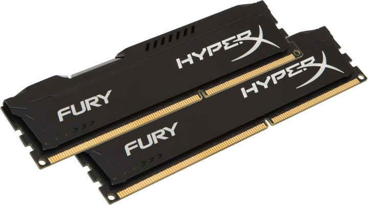 HyperX Fury Black 16GB (2x8GB) DDR4 2666